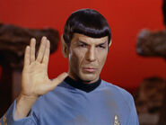 Leonard Nimoy's iconic role as Spock