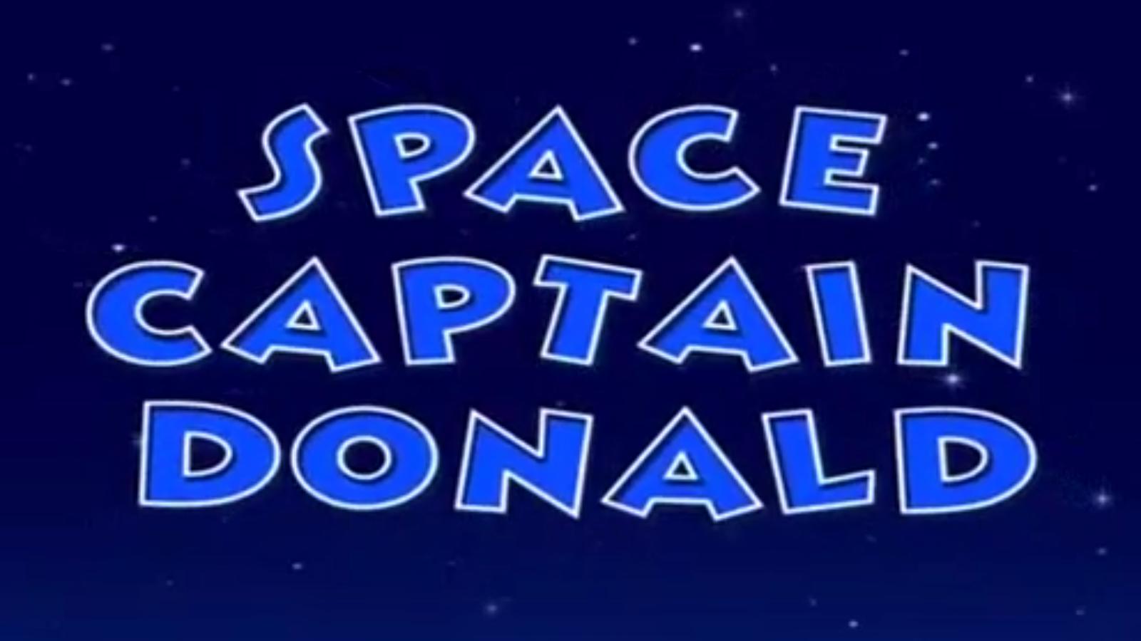 Space Captain Donald