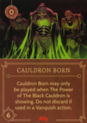 DVG Cauldron Born