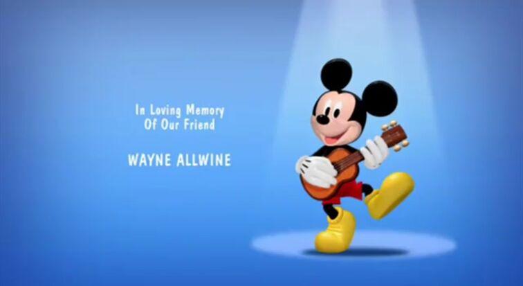 In Loving Memory Wayne Allwine
