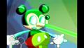 Robo-Mickey zapping Mortimer