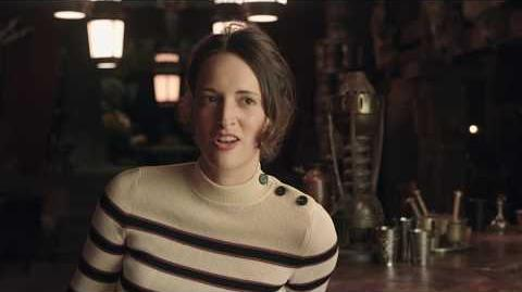 """SOLO Behind The Scenes """"L3-37"""" Phoebe Waller-Bridge Interview - A Star Wars Story"""