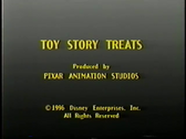 Toy Story Treats end credits
