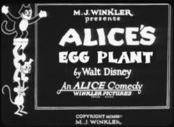 Alice's Eggplant