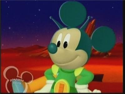 A Mensagem do Mickey de Marte