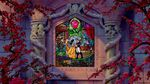 Beauty and the Beast stained glass ending