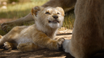 The Lion King (2019 film) Simba cub clean smile