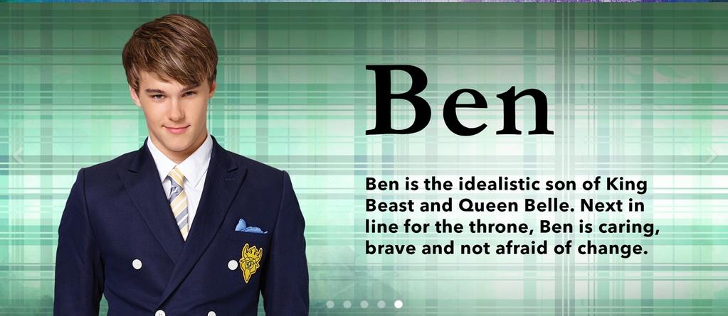 Ben (Descendants)/Gallery