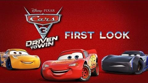 Cars 3 Driven to Win First Look