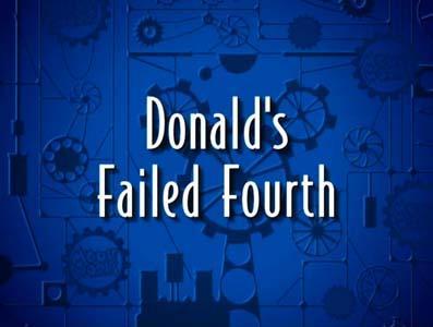 Donald's Failed Fourth