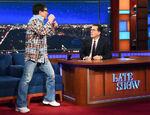 Jackie Chan visits Stephen Colbert