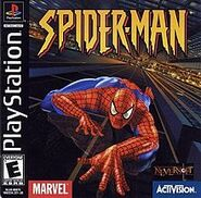 Spider-Man 2000 game cover