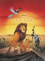 The Lion King Comic Reprint by Joe Books