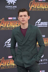 Tom Holland Avengers IW premiere