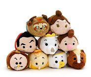 Beauty and Beast tsumtsum with Lefou