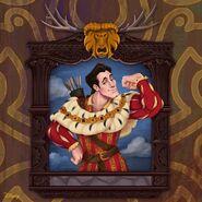 Disney Villain Portraits Gaston