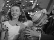 Kathryn Beaumont and Mortimer Snerd