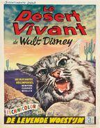 Living desert belgian poster