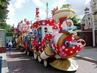 Minnie's Party Train 2009