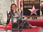 Amy Poehler Hollywood Walk of Fame