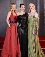 Angelina Jolie Elle Fanning Michelle Pfeiffer Maleficent 2 Premiere