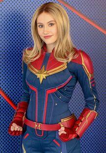 Captain Marvel in the Park