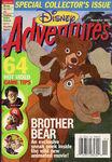 Disney Adventures Magazine cover November 2003 Brother Bear