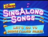 Let's Go to Disneyland Paris 1996 opening title