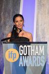 Lucy Liu speaks at Gotham Awards