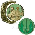 WDW - Star Wars Weekends 2009 - Symbols - Jedi Mace Windu and Qui-Gon