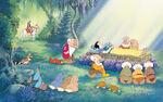 Disney Princess Snow White's Story Illustraition 14