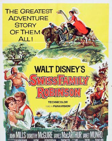Swiss Family Robinson Disney Wiki Fandom