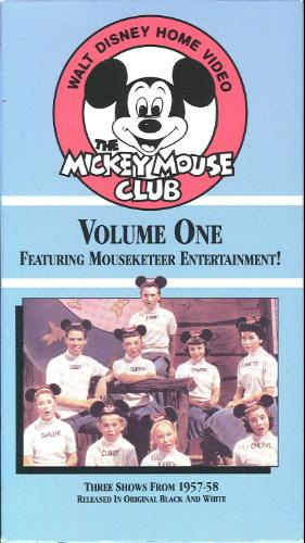 Mickey Mouse Club videography