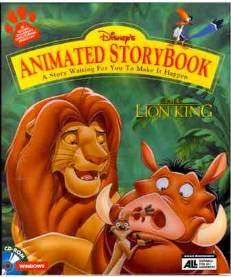 Animated StoryBook: The Lion King