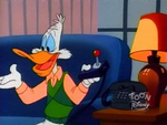 Darkwing Duck with video game controller