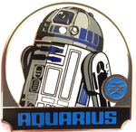 Star Wars - Zodiac Mystery Collection - Aquarius R2-D2 ONLY