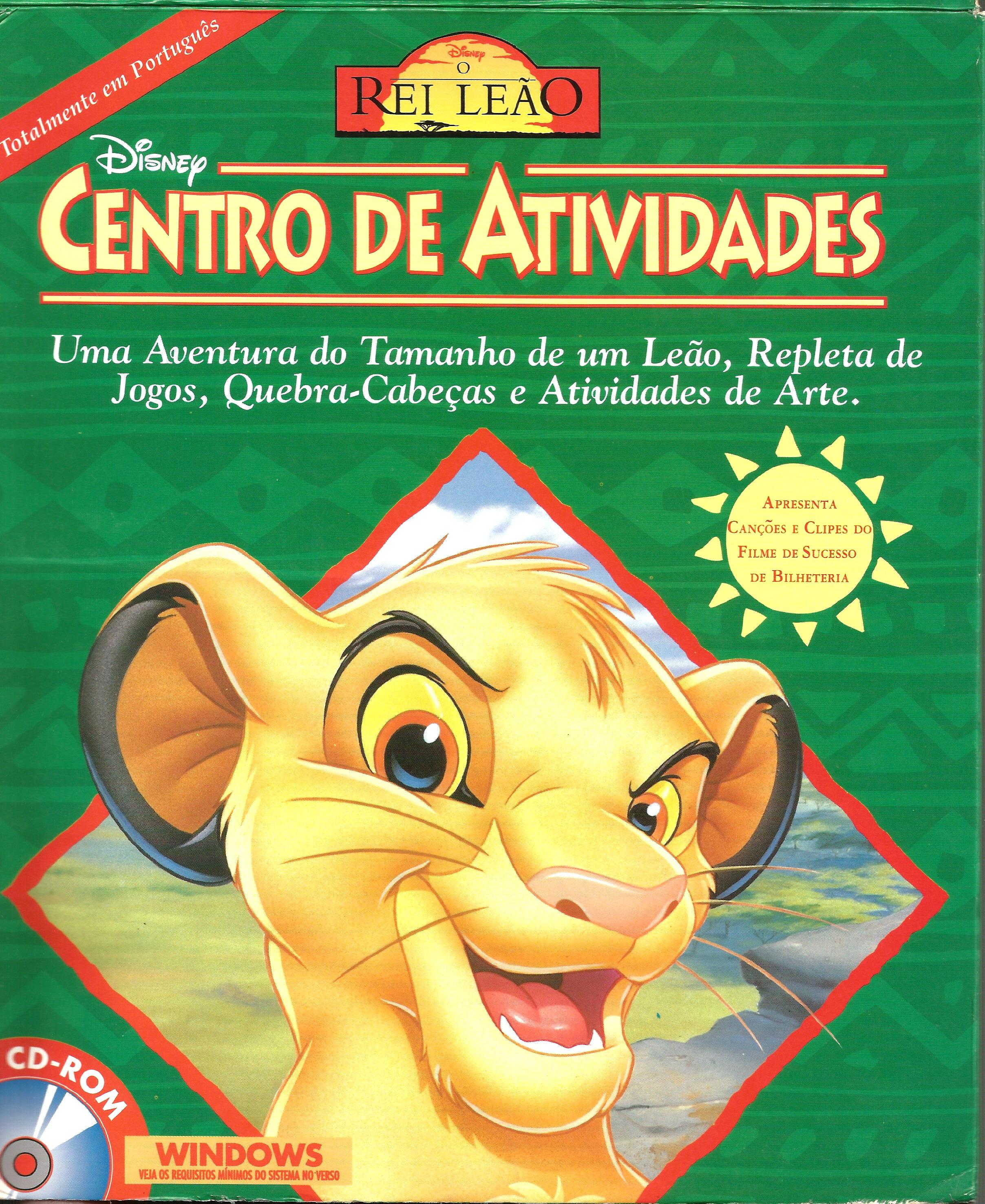 O Centro de Atividades do Rei Leão