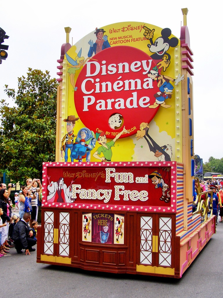 Disney Cinema Parade