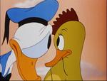 Donald and the Bird