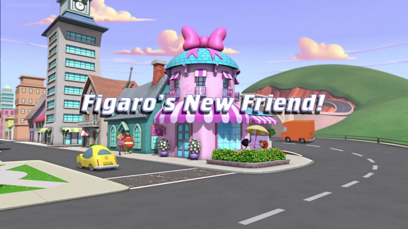 Figaro's New Friend!