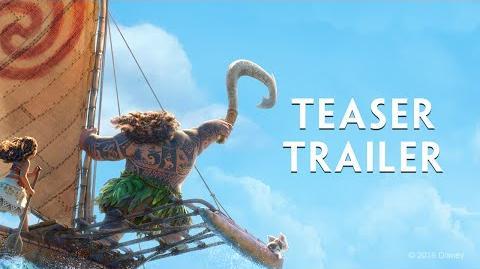 Moana Official US Teaser Trailer
