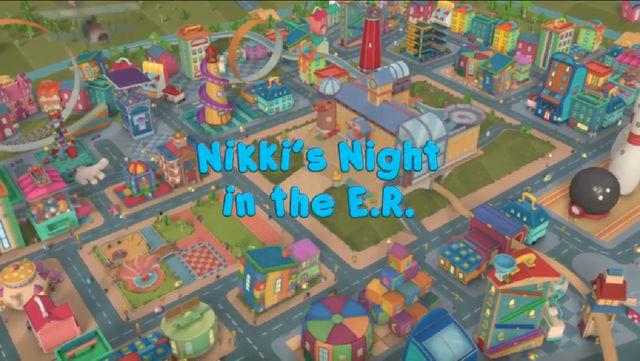 A Noite da Nikki no Pronto-Socorro