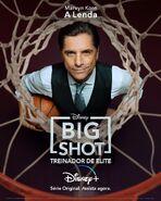 Big Shot - Treinador de Elite - Pôster de Personagem - 01