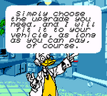 Ludwig Mickey's Racing Adventure Dialogue 2