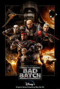 Star Wars Bad Batch Official Release Poster