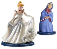 WDCC Cinderella and Fairy Godmother
