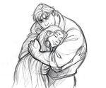 Bastion Rapunzel Embrace