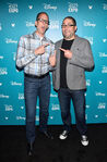 Pete Docter & Josh Cooley D23 Expo15