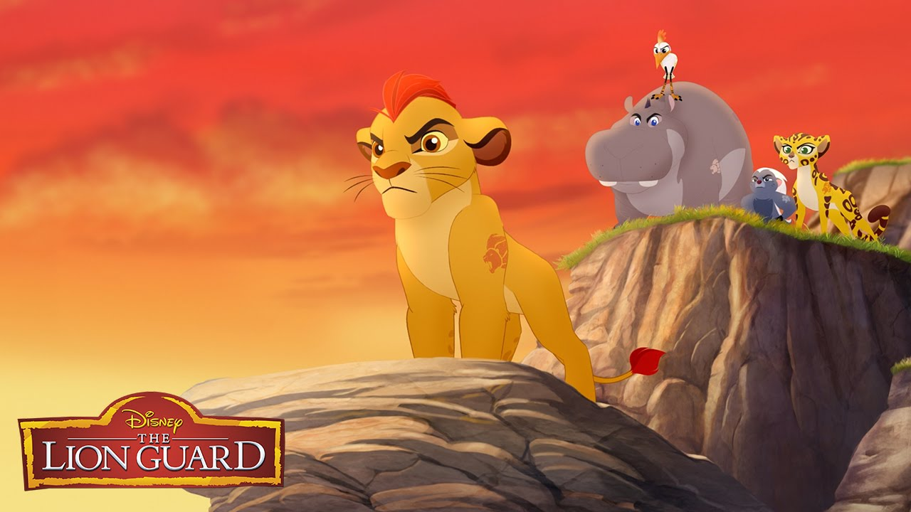 A to Z with the Lion Guard