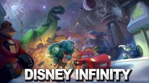 Disney Infinity Announce Trailer